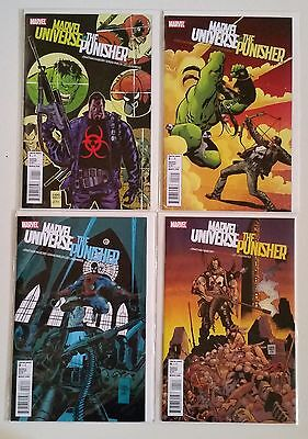 Full run of Marvel Universe vs The Punisher #1-4 2010 SEE SCANS Great DEAL!!!
