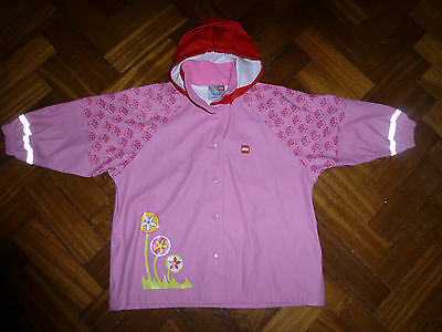 Lego collection 3-4 years girls pink raincoat