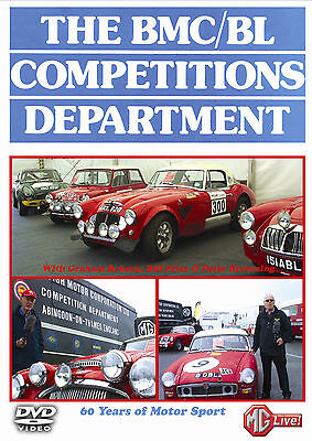 The Bmc/bl Competitions Department Dvd