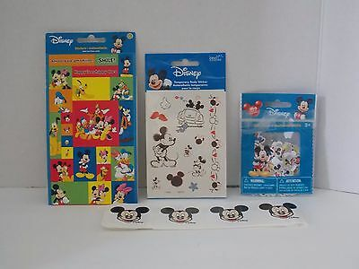 Disney ~ Stickers and Tattoos - Multiple Styles