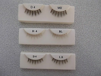 DOLL EYELASHES WISPY SPIKED IN THREE SHADES Code D4
