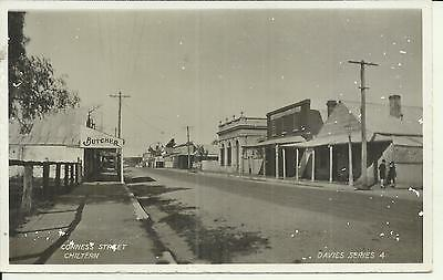 Conness Street Chiltern Victoria Photo Postcard