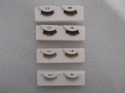 D3 Full Doll Eyelashes In A Variety Of Colours