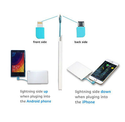 Universal Phone Portable Charger Power Bank/mobile/Android/iPhone/Google Phone