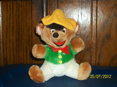 Warner Bros Speedy Gonzales Mexican Mouse Plush 24K 1993