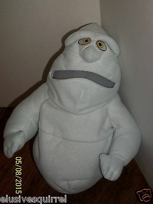 "Casper The Friendly Ghost Friend Fatso Plush Glow In The Dark Eyes 14"" Tall"