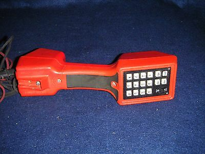 Harris TS22 Butt Set Lineman Red Telephone Tester (Untested) - Bell South