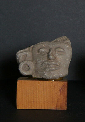 Pre-Columbian Artifact, Fragment, Zapotec - 2, Carved Stone