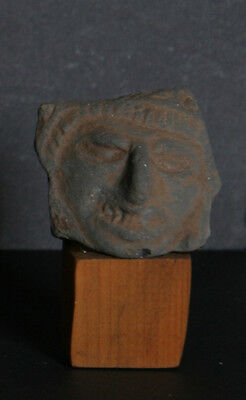 Pre-Columbian Artifact, Face, Zapotec Culture, Terra Cotta Fragment