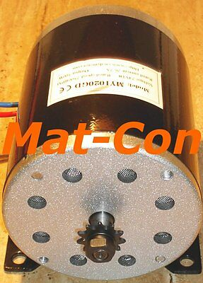 E-Motor Electric motor Direct current Generator MY1020GD DC 1000W 1KW 36V/48V