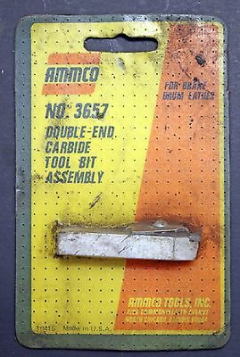 Ammco 3657 Double-End Carbide Tool Bit Holder Assembly for Brake Drum Lathe
