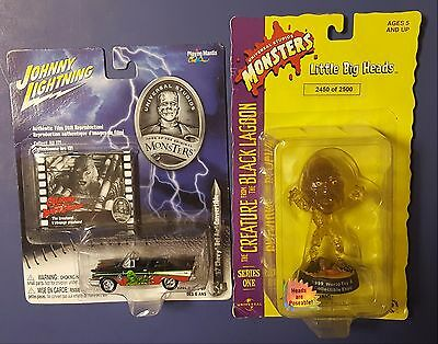 Creature From The Black Lagoon Sideshow figure  & Johnny Lightning car