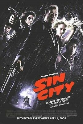 SIN CITY MOVIE POSTER 1 Sided ORIGINAL FINAL 27x40
