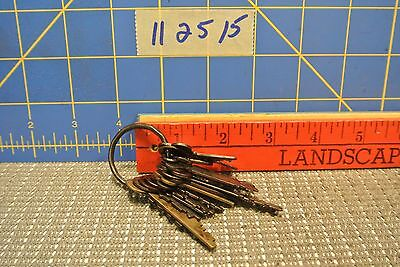 Lot of Old Keys Eagle, National and others
