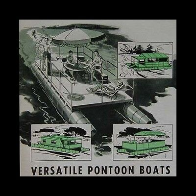 23' Pontoon Boat / Party Barge or Houseboat How-To build PLANS