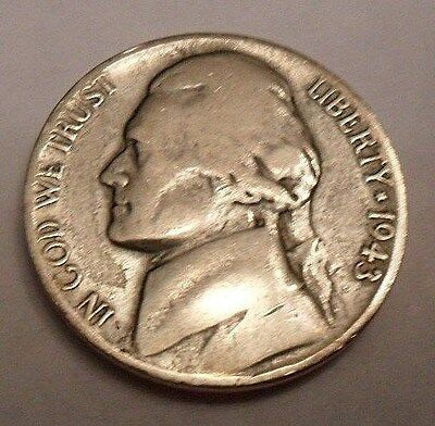 1943 P Jefferson Nickel  *35% SILVER*  **FREE SHIPPING**