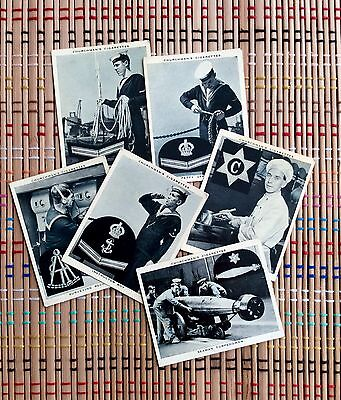 The Navy At Work, 1937 Cigarette Cards