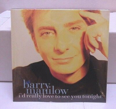 Barry Manilow Promo CD - I'd Really Love to See You Tonight 1997 - NEW Sealed