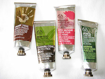 The Body Shop hemp hand Protector ,Absinthe Purifying , Rose,Almond U Pick 100mL