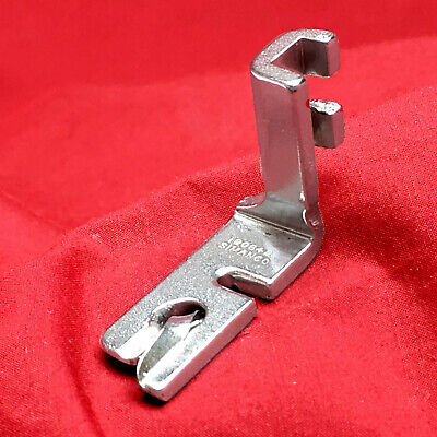 "SINGER SIMANCO 120855 5/64"" Rolled Hemmer Foot Vintage Sewing Machine Attachment"