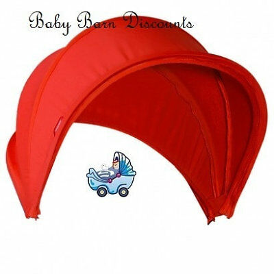 NEW Phil & Teds Smart V2 Red Sunhood from Baby Barn Discounts