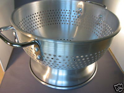 "Heavy Duty Colander - With Base & Two Handles ~ 11.5"" Commerical Grade BRAND NEW"