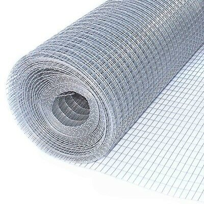 ALEKO 10Ft Mesh Wire Roll Cloth 16 Gauge Steel 1/2x1 Mesh WM30X10M1/2X1G20