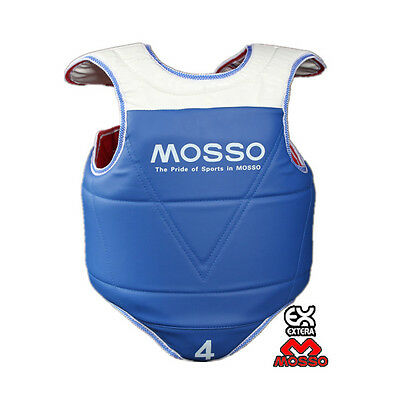 Taekwondo chest guard Double-sided chest protector MOSSO FREE SHIPPING