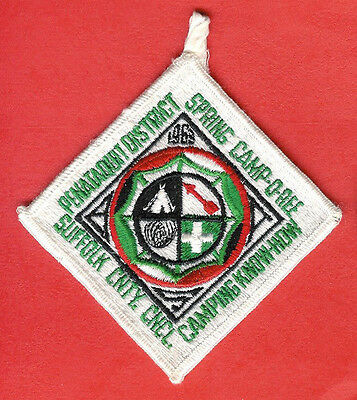 Boy Scout Patch Suffolk County Council 1963 Camporee