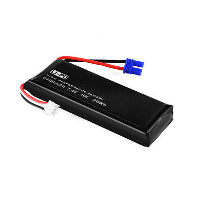 Lipo Battery Replacement 10C 7.4V 2700mAh for Hubsan X4 Quadcopter H501S RC305