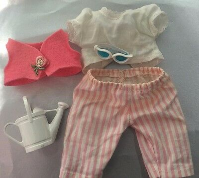 Vogue Ginnette Doll's Adorable Htf Tagged Outfit #2230 Crawler Set: Complete
