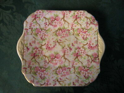 Vintage Shelley Maytime Cake Plate