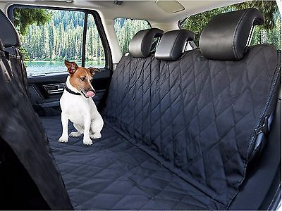 Seat Covers for Dogs Waterproof Protector Back Seat Pet Hammock Cars SUVs Trucks