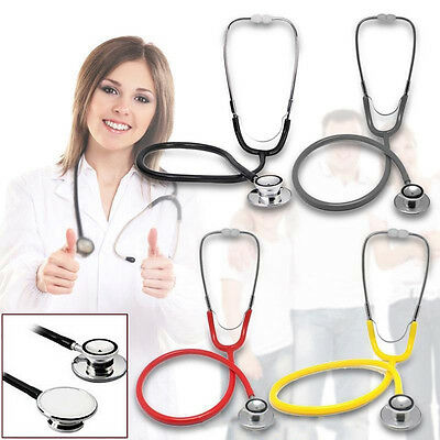 Dual Head Stethoscope Doctor Student Medical Tool Health Monitor Supplies