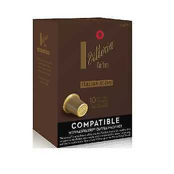 Vittoria Italian Blend Coffee Capsules (For use with Nespresso machines)