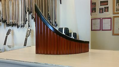 Romanian profesional PanFlute,22 pipes,Hora,solid wood, LEFTHAND