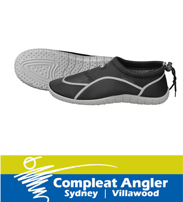Mirage Aqua Shoes Black-Grey Size 7-8 BRAND NEW At Compleat Angler