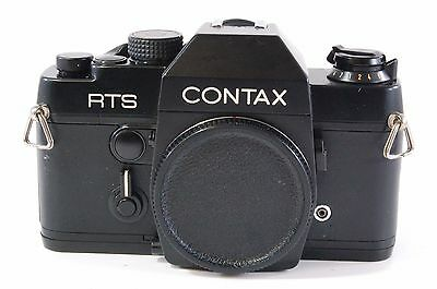 Vintage SLR camera Contax RTS only body Ref.810167M