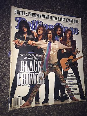 Rolling Stone magazine(May 1991)The Black Crowes [cover]Hunter S.Thompson