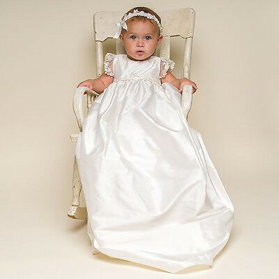 newborn-2Y Infant Toddler Baby Girls Boys Christening Baptism Gown Dresses 2pcs