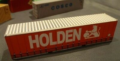 Holden with Lion Logo - Shipping Container HO and N scale Railway Model Train
