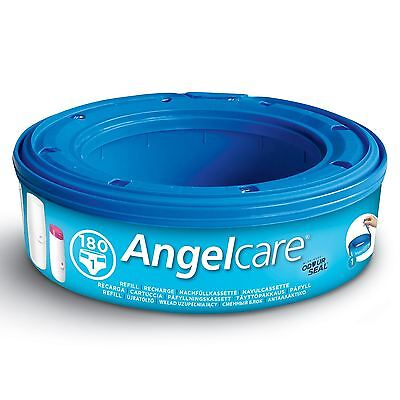 1 x Angelcare Nappy Disposal System Refill Cassettes Wrappers Bags Sacks Pack