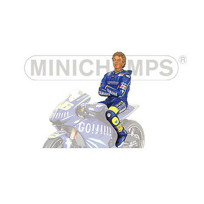 Minichamps 1/12 Valentino Rossi Figure Sitting 2004 without sunglasses