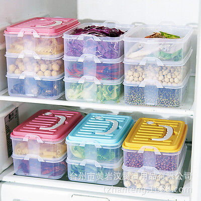 New 3 Layered Food Storage Box Sealing Box Container Kitchen Refrigerator
