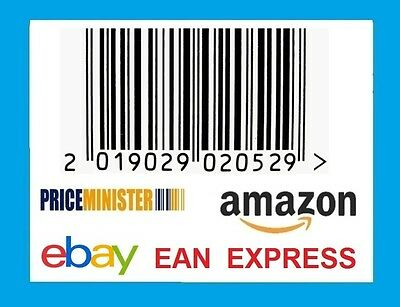 5000 UPC & EAN BARCODE codes NUMBERS BAR CODE NUMBER BARCODES for amazon