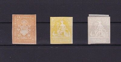Switzerland Early Imperf Stamps Ref R650
