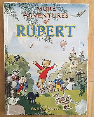 RUPERT ORIGINAL ANNUAL 1947 VG Neatly Inscribed Not Price Clipped