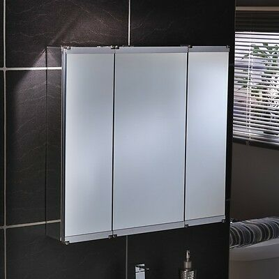 5 x Lumino Vivace Bathroom mirrored cabinets - free delivery
