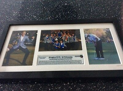 Ryder Cup Limited edition Print Miracle of Medinah 2012