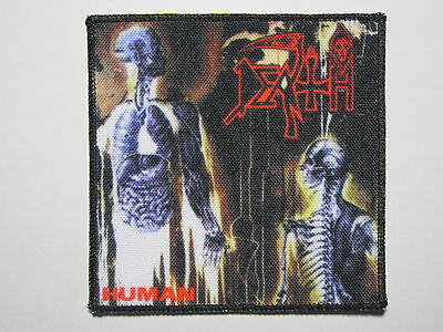 DEATH Human printed NEW patch death metal